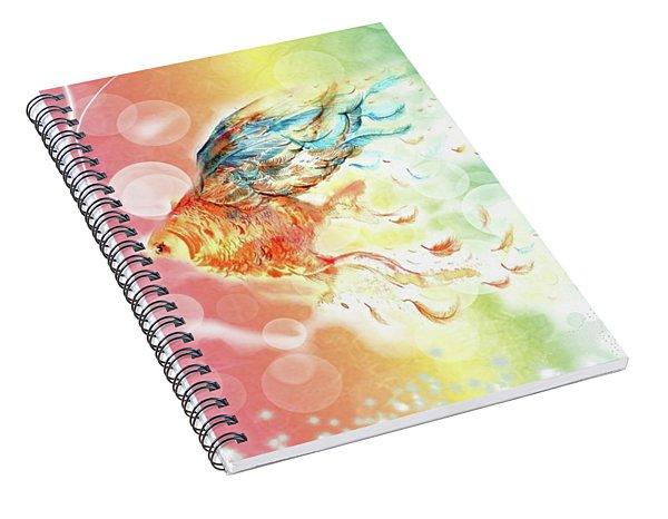 Goldfin Spiral Notebook