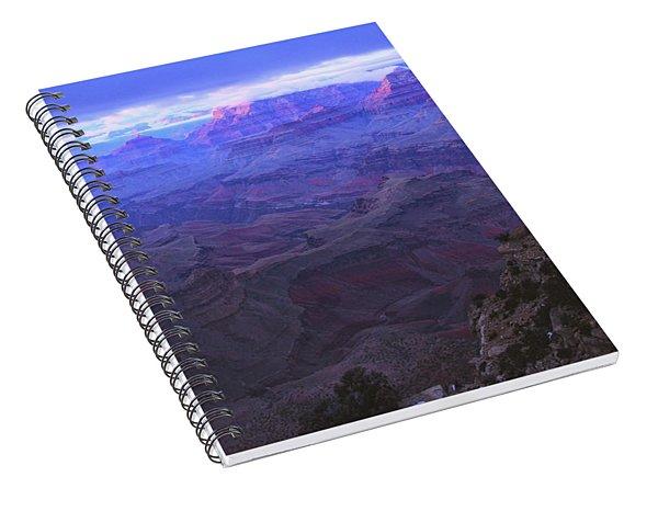Grand Canyon Twilight Spiral Notebook