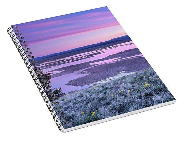 Grays Lake Sunrise Spiral Notebook