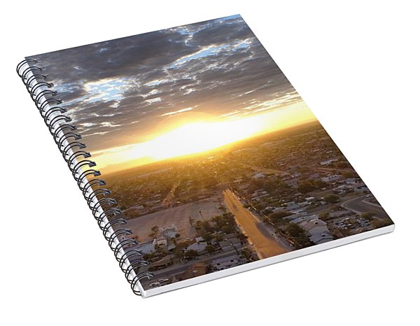 Guadalupe Sunset Spiral Notebook