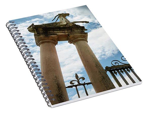 Guarding The Island Spiral Notebook