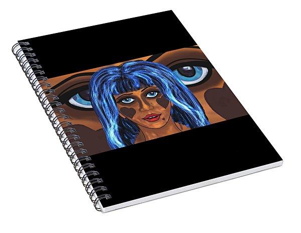 Haunted 4 Spiral Notebook