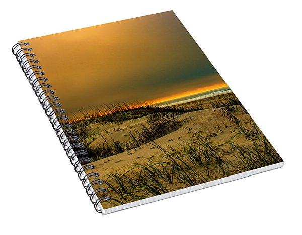 Hazy Awakening Spiral Notebook