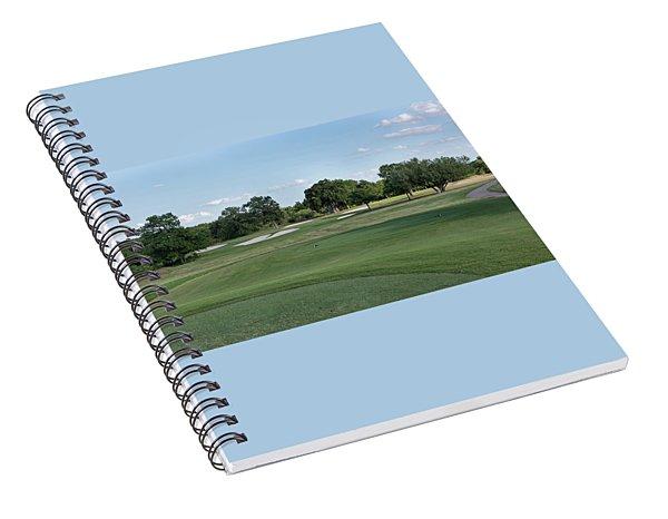 Hole #9 Spiral Notebook