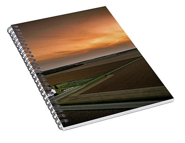 Holy Sunset Spiral Notebook
