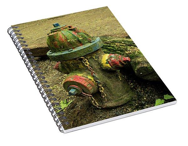 Hydrant Spiral Notebook