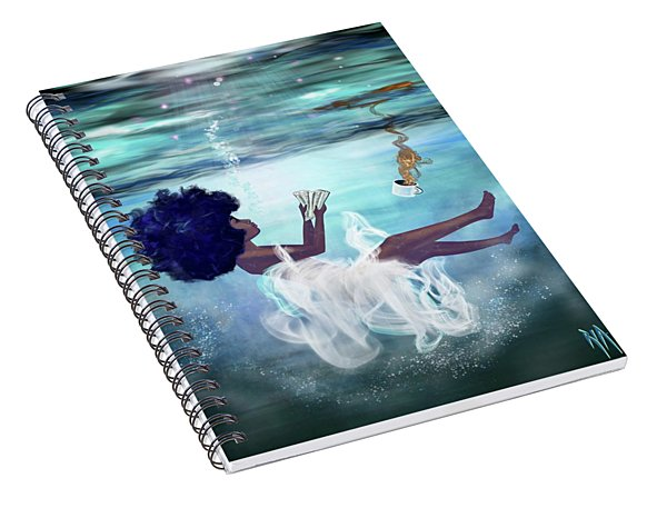 I Aint Drowning Spiral Notebook