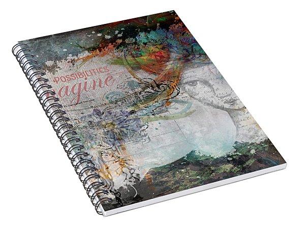 Imagine Possibilities Spiral Notebook
