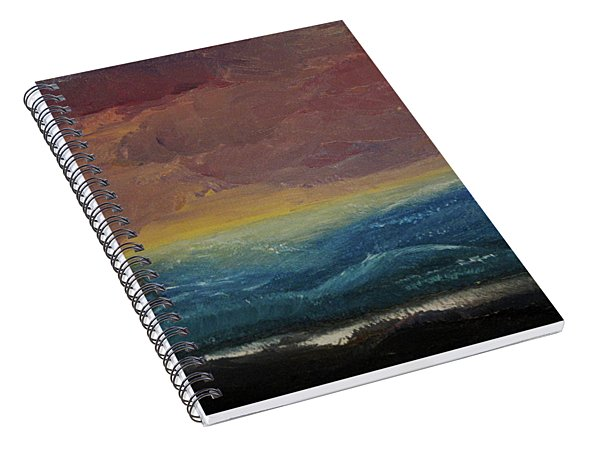 Impressions Of The Sea Spiral Notebook