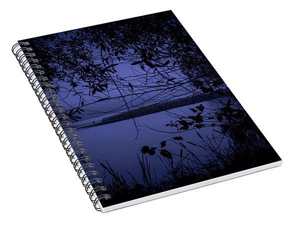 In The Darkness Spiral Notebook