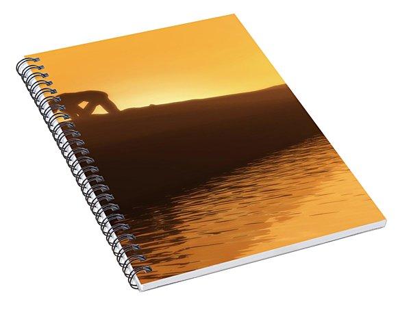 Indomitable Spiral Notebook