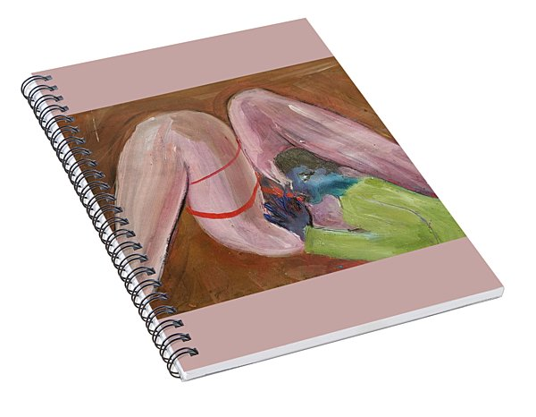 Insatiable Man Insatiable Spiral Notebook