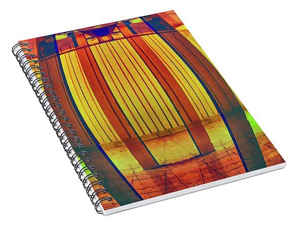 Inside The Magic Lantern Spiral Notebook