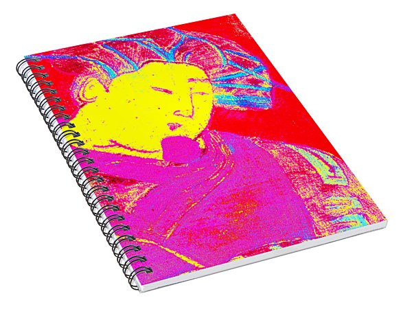 Japanese Pop Art Print 9 Spiral Notebook