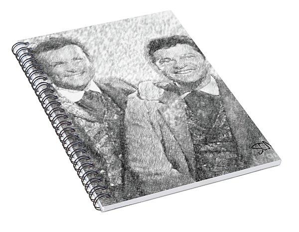 Jim And Artimus Spiral Notebook