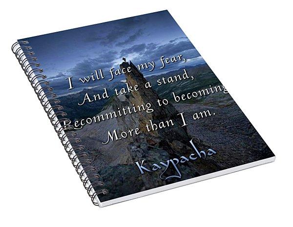 Kaypacha - December 26, 2018 Spiral Notebook