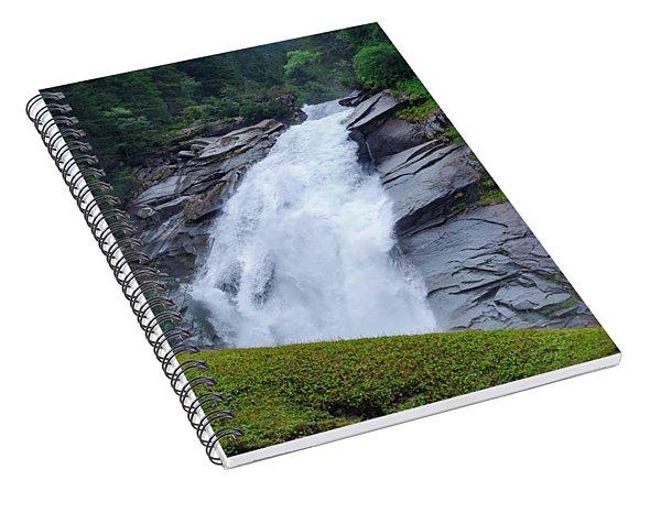 Krimml Waterfalls IIi Spiral Notebook