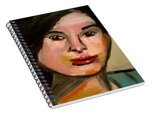 La Femme Inconnue Spiral Notebook