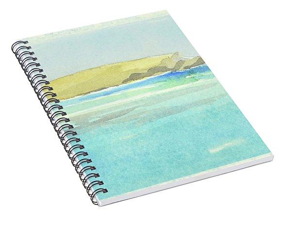 La Tortue, St Barthelemy, 1996_4179, 122x74 Cm, 6,86 Mb Spiral Notebook