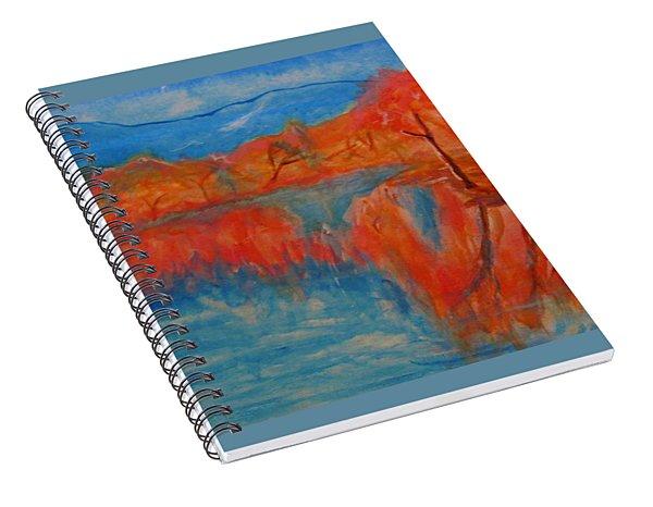 Lake Mirror Spiral Notebook