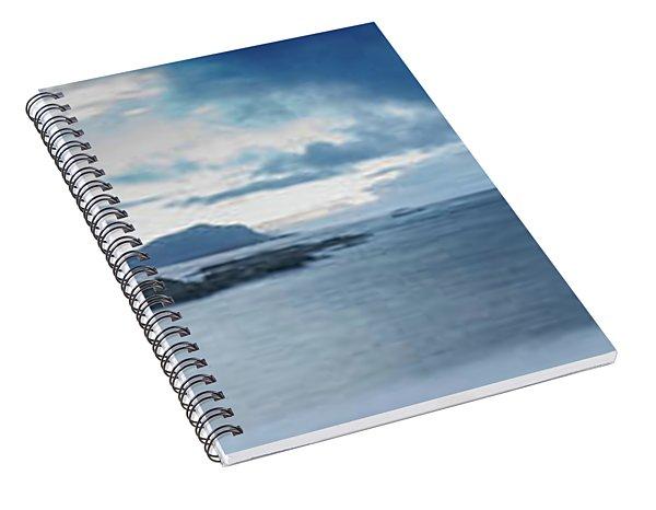 Landscape In The Lofoten Islands Spiral Notebook