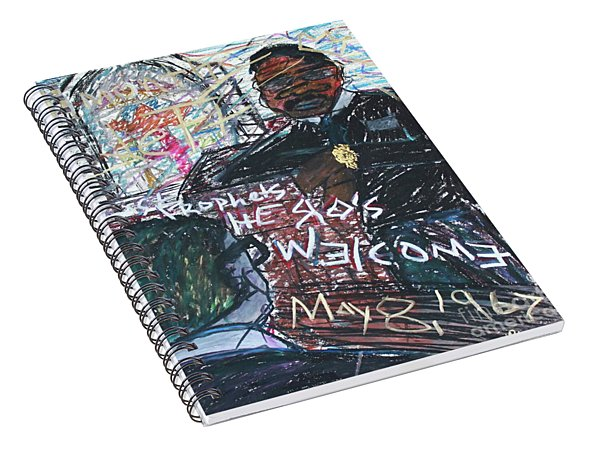 Last Prophets A Hero's Welcome Spiral Notebook
