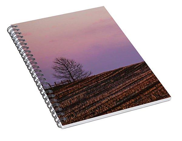 Lavender Crest Spiral Notebook