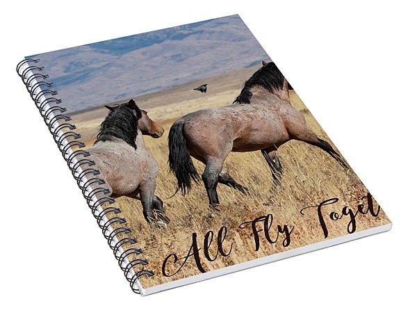 Let's All Fly Together Spiral Notebook