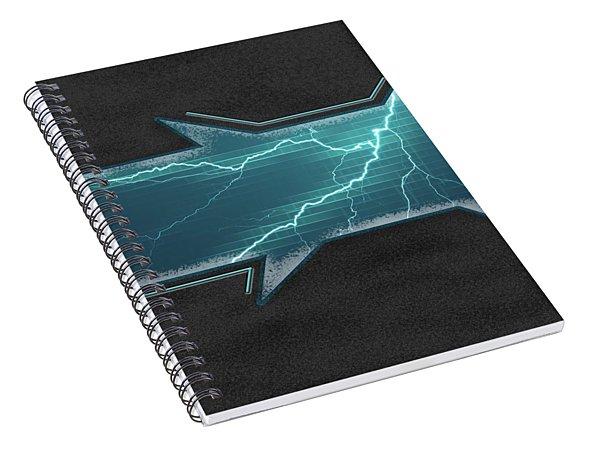 Lightning-centric Spiral Notebook