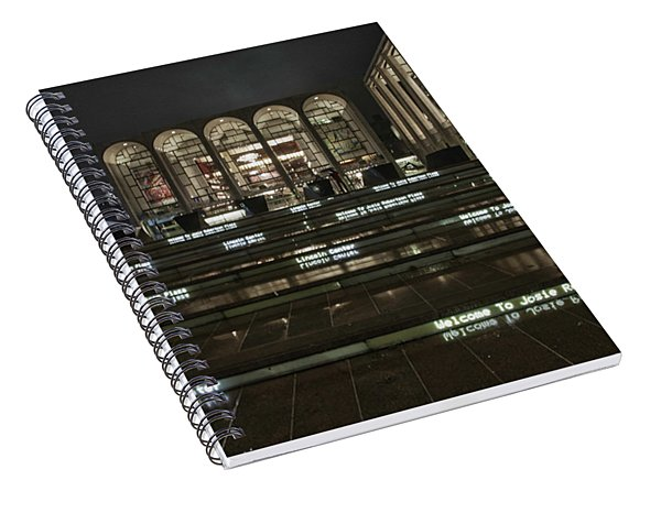 Lincoln Center For The Performing Arts Spiral Notebook