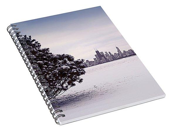 Lovely Winter Chicago Spiral Notebook
