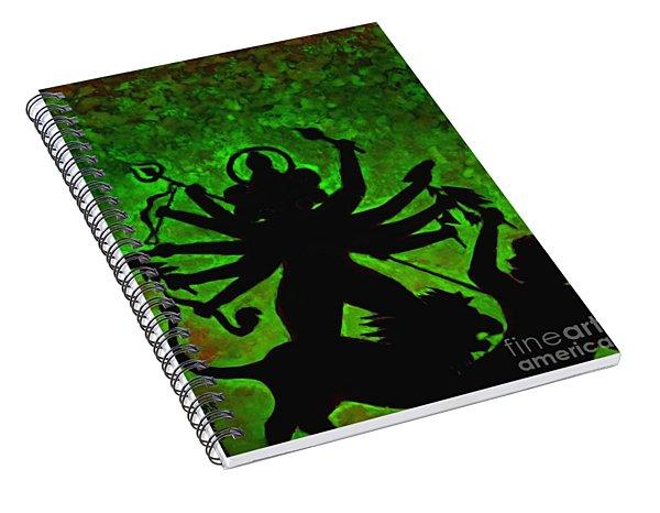 Ma Durga-4 Spiral Notebook