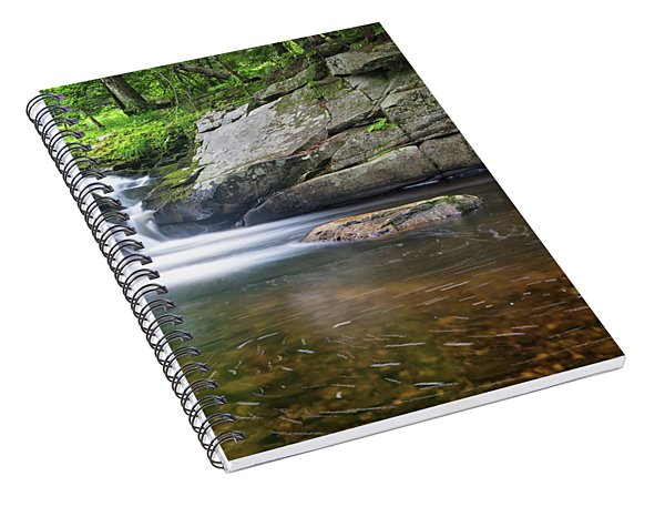 Mad River Falls Spiral Notebook