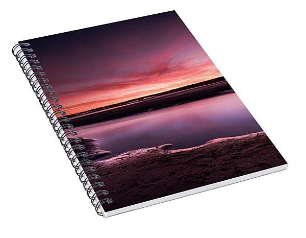 Marazion Sunset Spiral Notebook