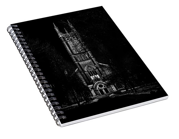 Spiral Notebook featuring the photograph Metropolitan United Church Toronto Canada 3 by Brian Carson