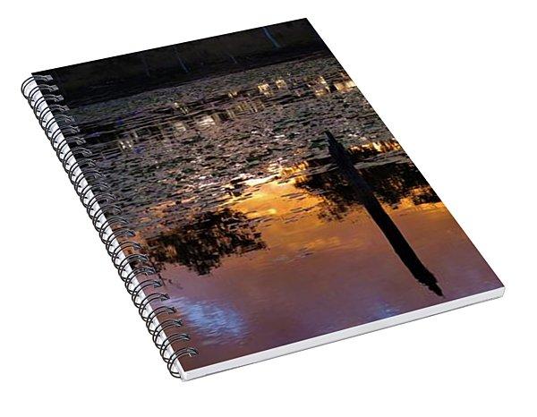 Minnamoolka Sunset Reflection 2 Spiral Notebook