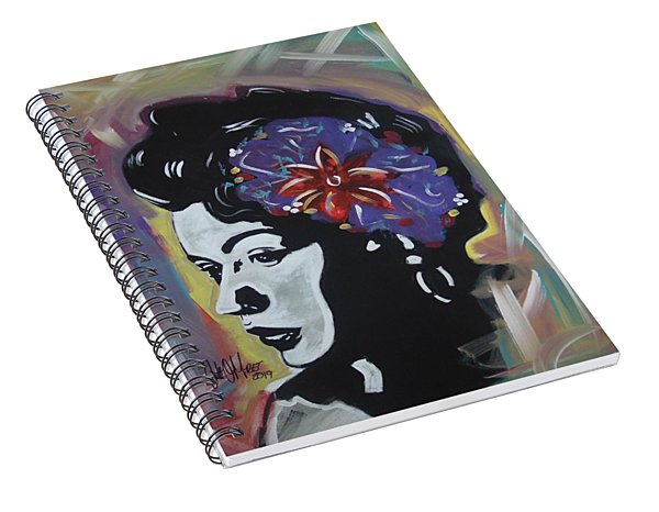 Miss Holiday Spiral Notebook