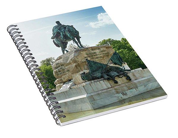 Monument To General Arsenio Martinez Campos In Madrid, Spain Spiral Notebook