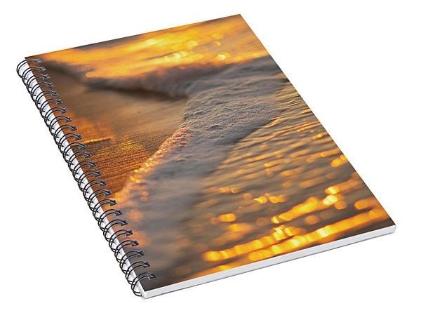 Morning Shoreline Spiral Notebook