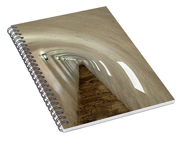 Morro Castle Hallway Spiral Notebook