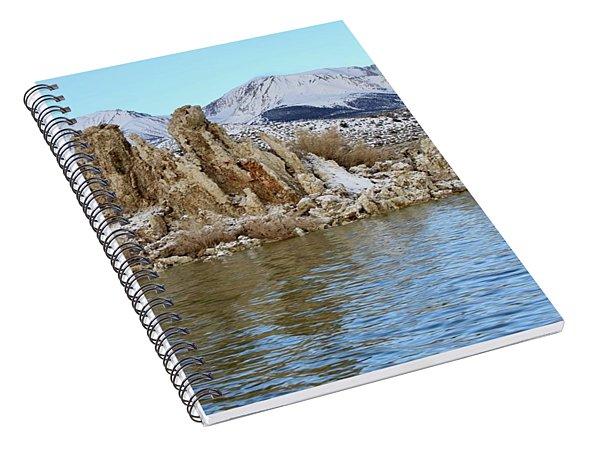 Mount Dana At Dawn  Mono Lake Spiral Notebook