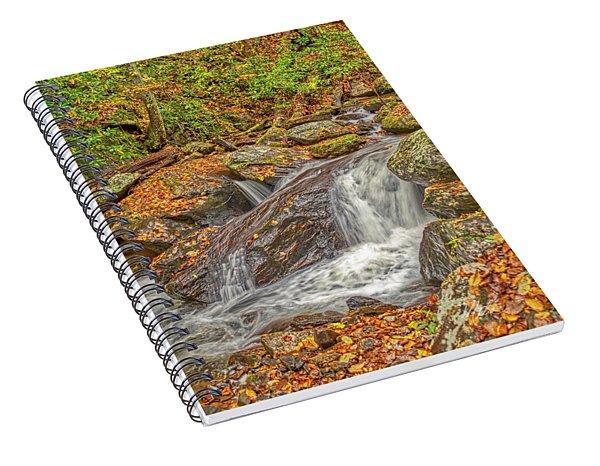 Mountain Stream Rock Spiral Notebook