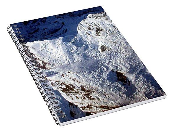 Mountaintop Snow Spiral Notebook