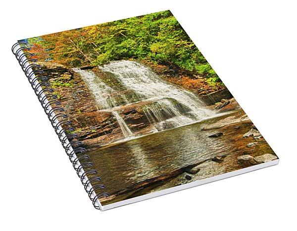 Muddy Creek Falls Spiral Notebook