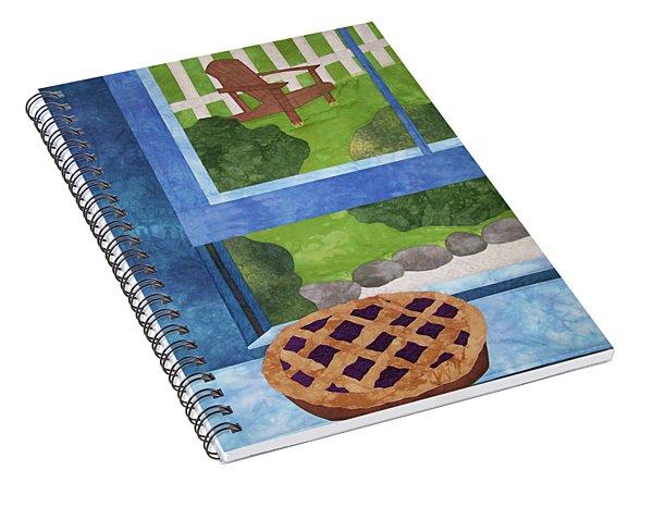 My Soul In A Blackberry Pie Spiral Notebook