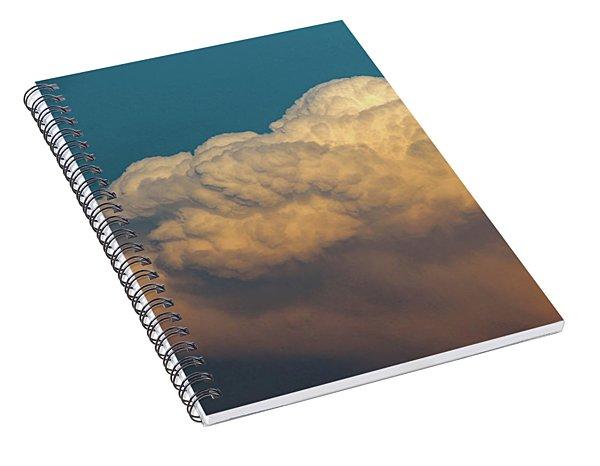Nebraska Sunset Thunderheads 053 Spiral Notebook