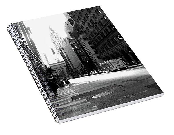 New York, Street Spiral Notebook