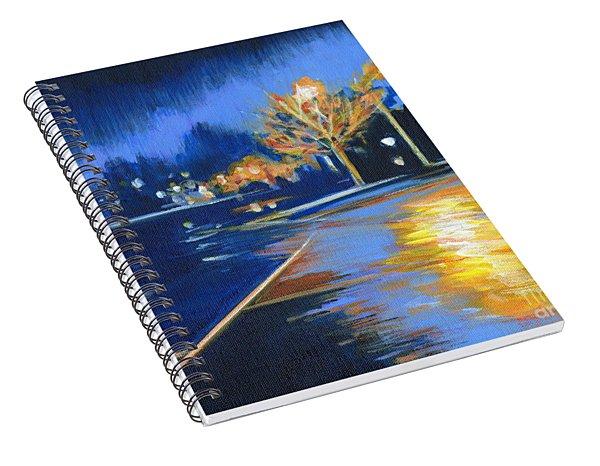 November Rain Spiral Notebook