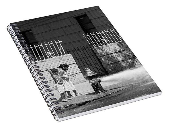 Nyc Summer  Spiral Notebook