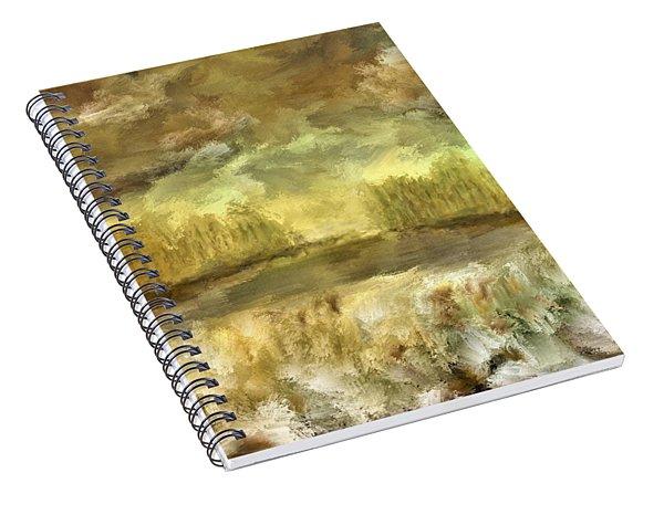 October At The Falls Spiral Notebook